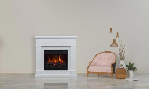 Guides for electric fires